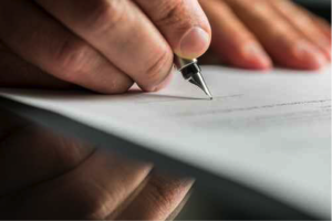 Signing a Noncompete Agreement – California Law