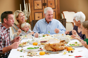 Family Discusses Holidays and Estate Plans