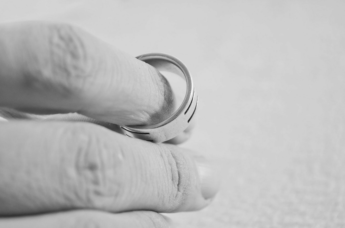 Fiddling with Wedding Ring - Considering a Divorce